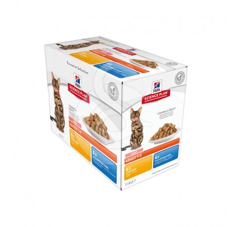Feline Adult Light Pack Mixte Sachet repas