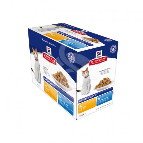 Feline Mature Pack Mixte Sachet repas