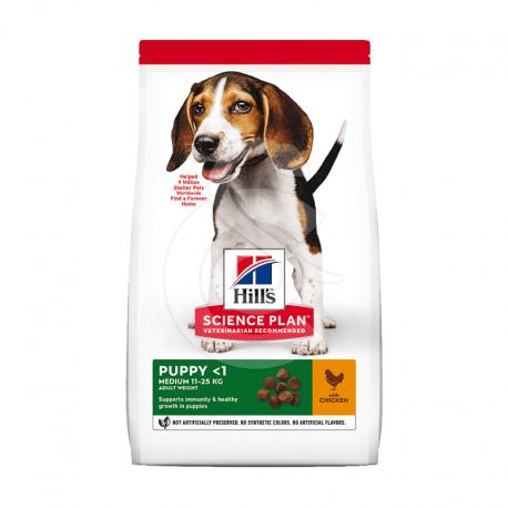 Canine Puppy Medium Poulet