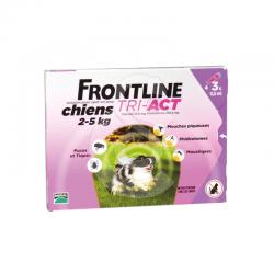 Frontline Tri-Act XS Chien 2-5 kg