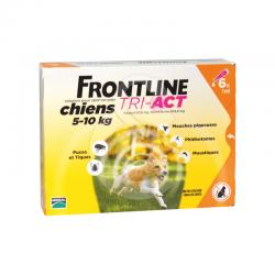 Frontline Tri-Act S Chien 5-10 kg