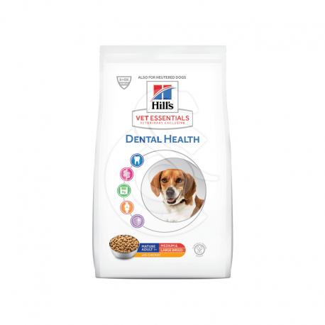 Vetessentials Canine Mature Dental Health Medium&Large Poul.
