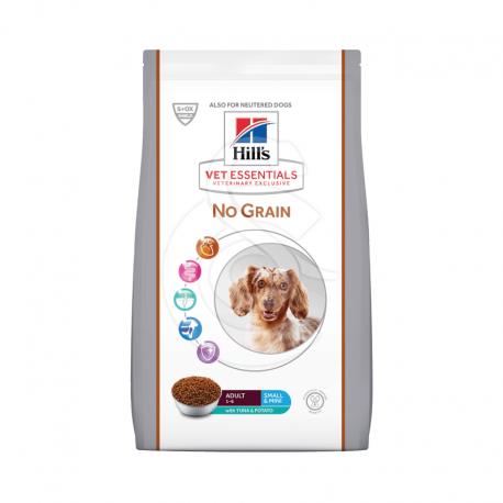 Vetessentials Canine Adult Small&Mini No Grain Thon&Pom. Ter