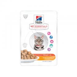 Vetessentials Feline Adult Poulet Sachet Repas