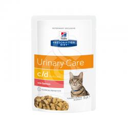 Feline C/D Multicare Sachet Repas Saumon