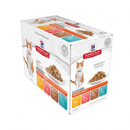 Feline Sterilised Cat Young Adult Pack Mixte Sachet repas
