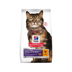 Feline Adult Sensitive Stomach & Skin Poulet