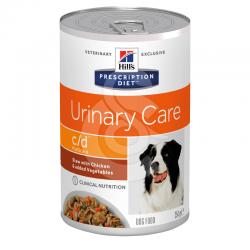 Canine C/D Multicare Mijotés Poulet & Légumes Boîte