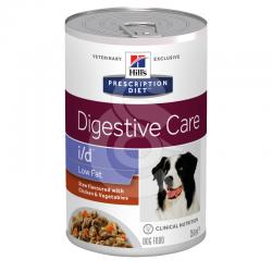 Canine I/D Low Fat Digestive Care Mijotés Poulet & Lé. Boîte
