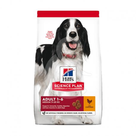 Canine Adult Medium Poulet