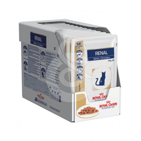 Veterinary Diet Cat Renal Poulet Sachet