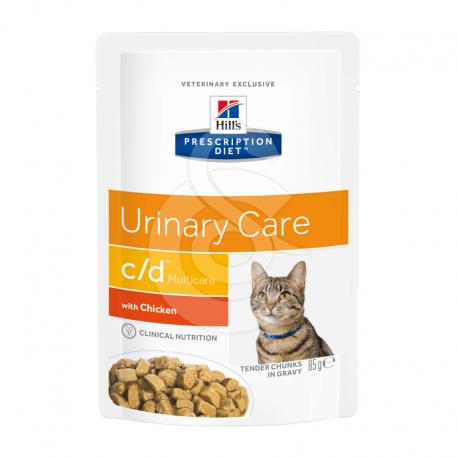 Feline C/D Multicare Sachet Repas Poulet
