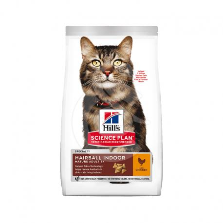 Feline Mature Adult 7+ Hairball Indoor (ex Control) Poulet