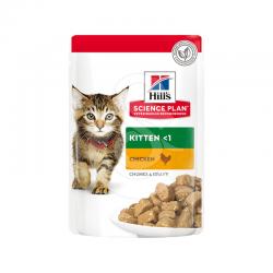 Feline Kitten Poulet Sachet Repas