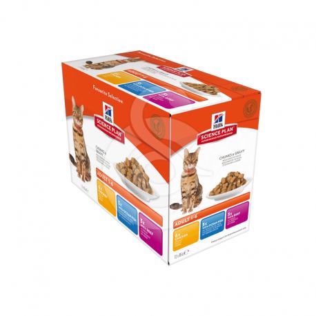 Feline Adult Pack Mixte Sachet repas